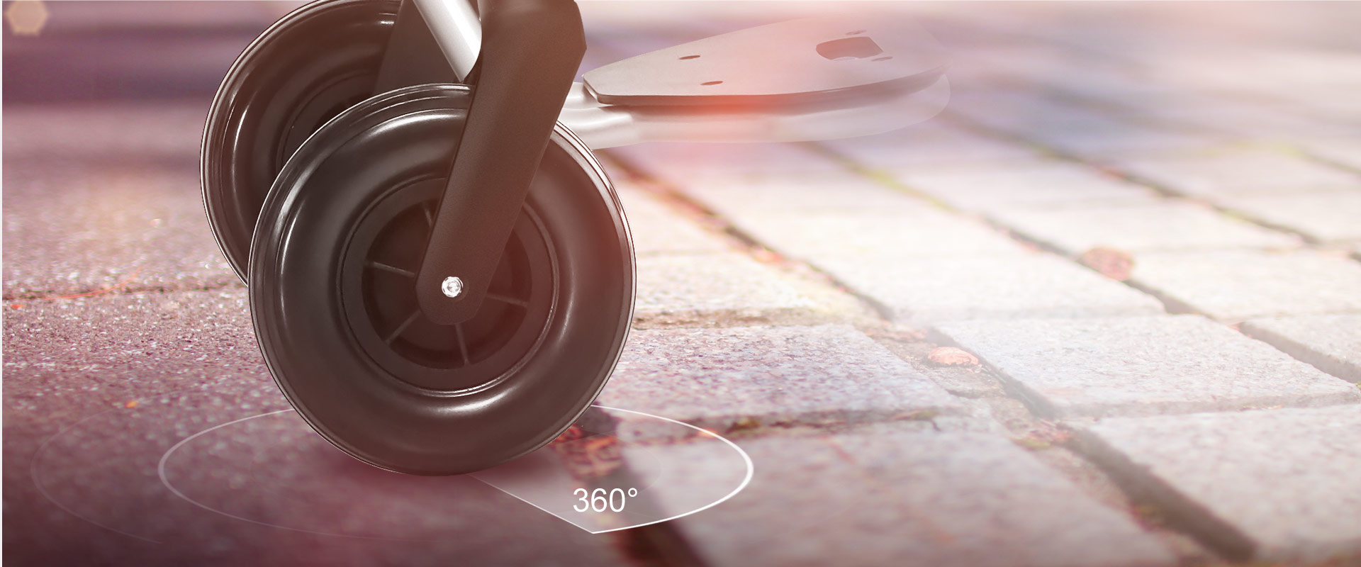 360 ° flexible steering