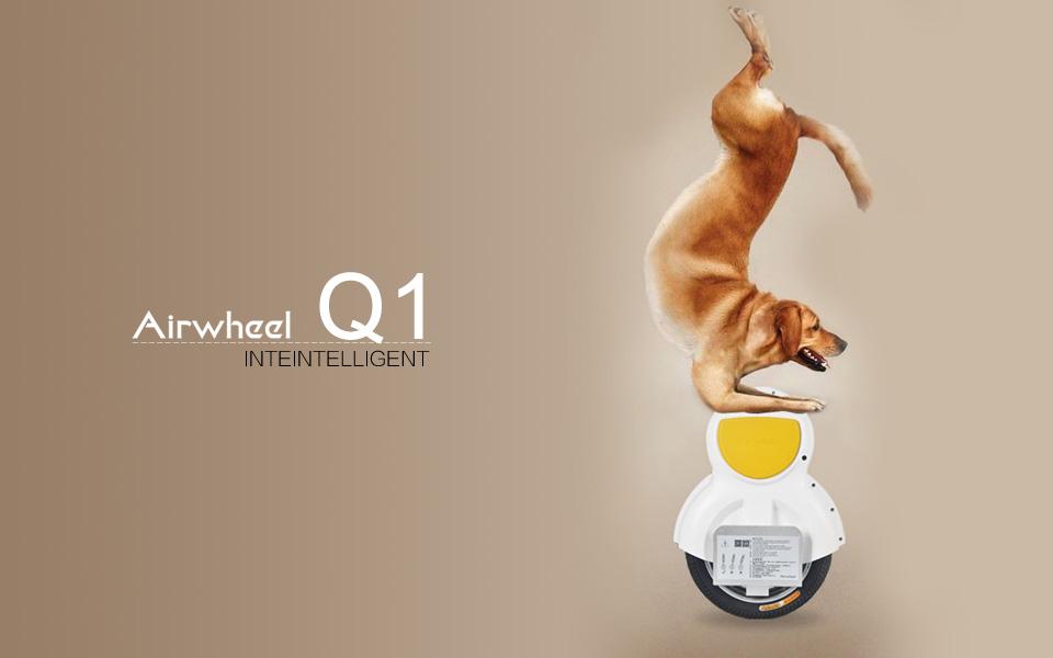 Airwheel, l'équilibre de l'auto mono roue électrique, auto-équilibre mono roue