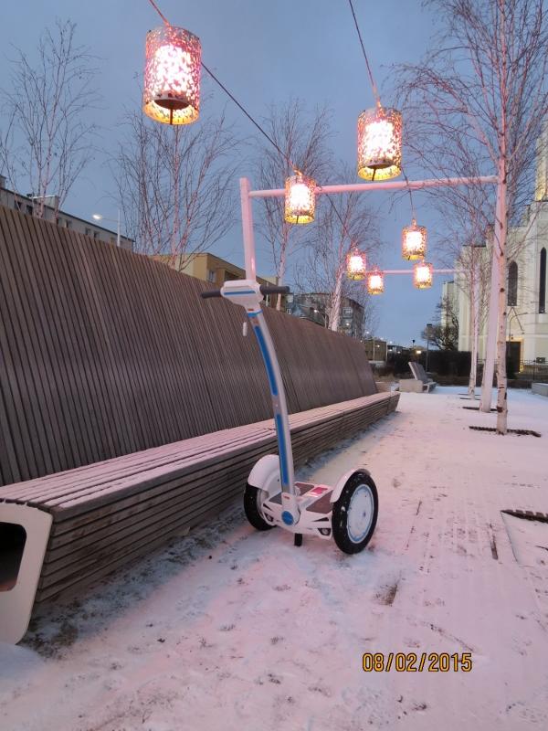 Airwheel, una rueda scooter, eléctrico una rueda, scooter