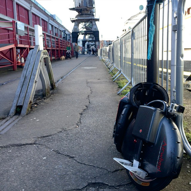Airwheel, X8 single wheel scooter