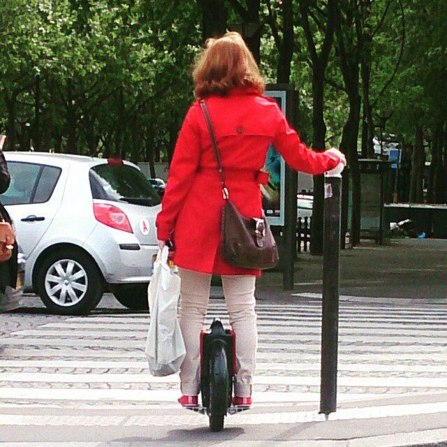 Airwheel,scooter auto-équilibrage