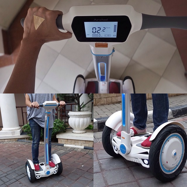 intelligent electric scooter