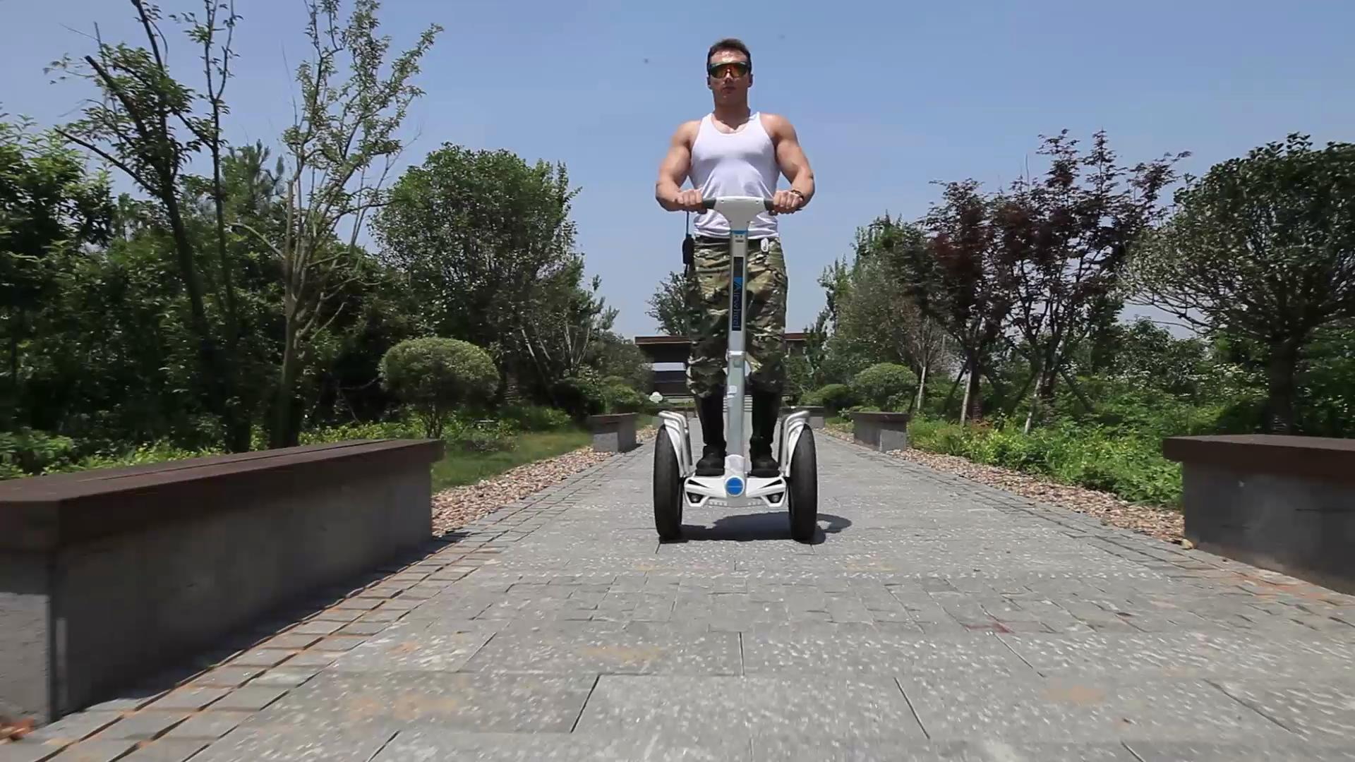 Airwheel scooter monocycle