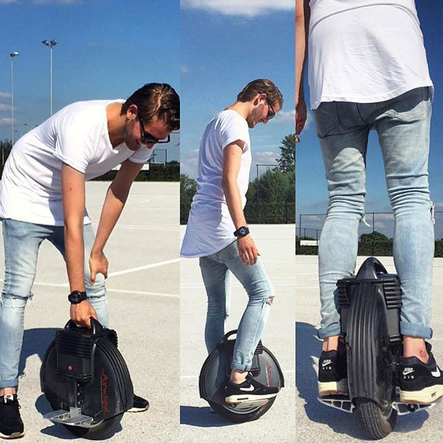Airwheel X8, دراجة إيرويل