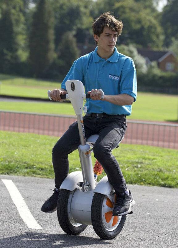 Airwheel A3, moyen de locomotion electrique