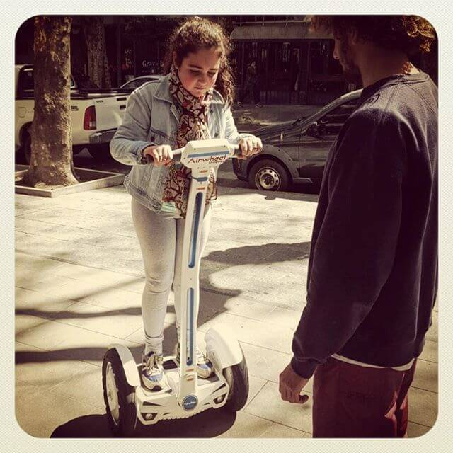 Airwheel S3, 2-wheeled electric scooter