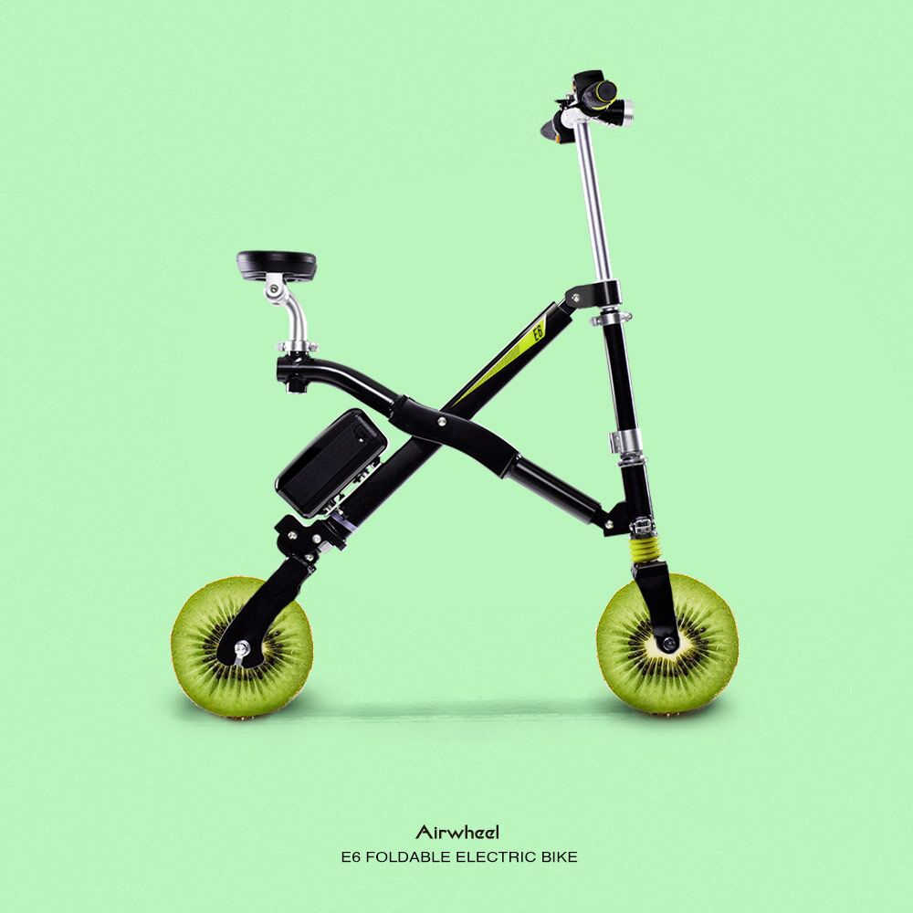 Airwheel E6 folding e bike