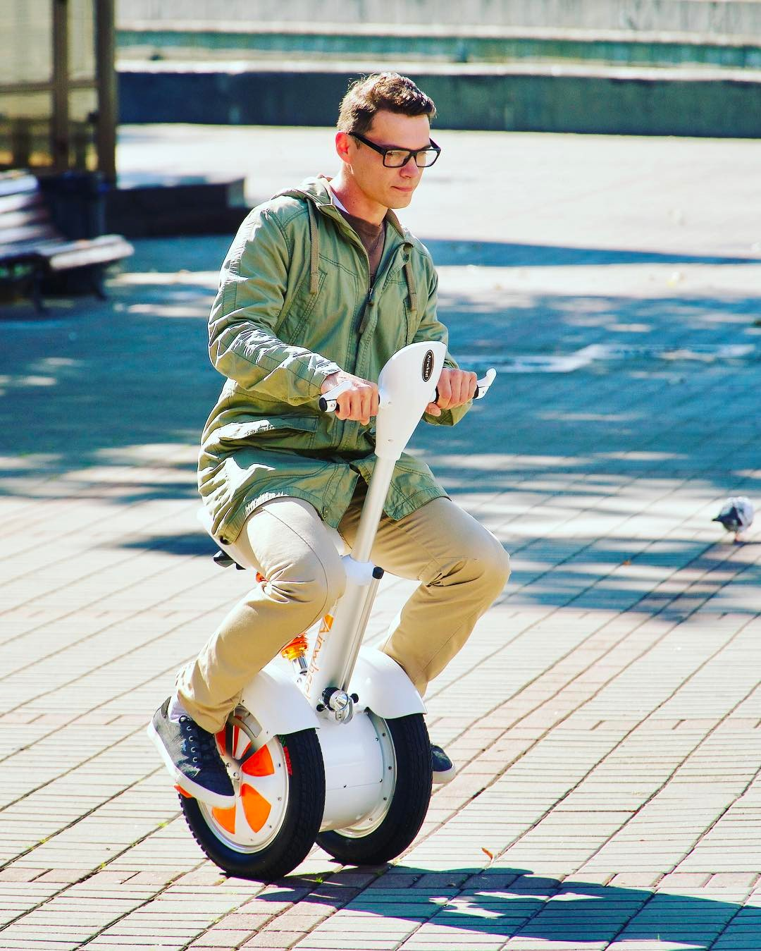 Airwheel A3 2-wheeled electric scooter
