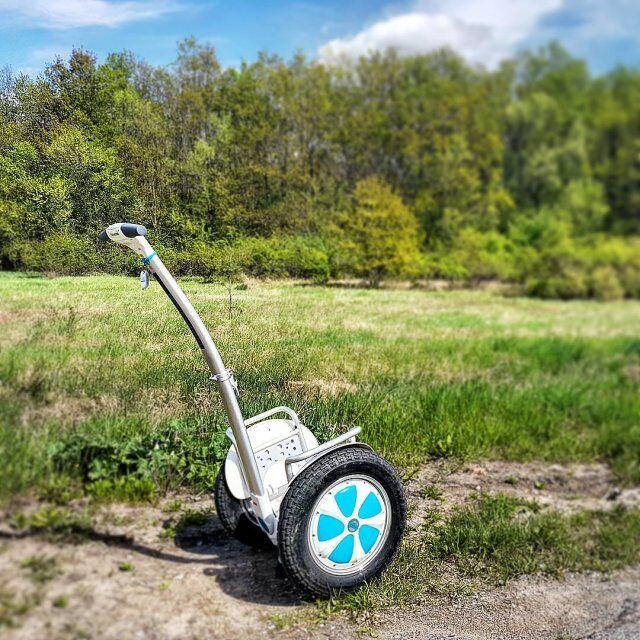 intelligent power scooter