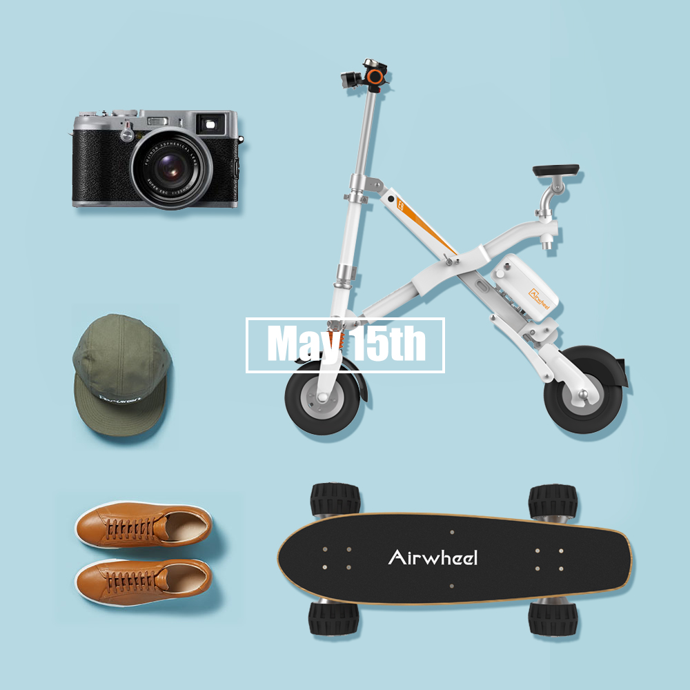 Airwheel Folding Smart Electric Bicycle E6