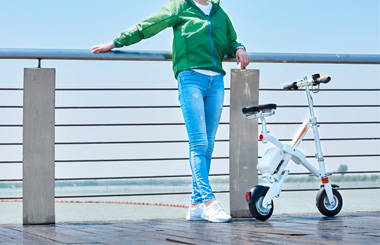 Airwheel E6 Folding Electric Bike