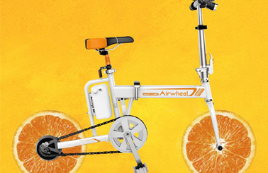 Airwheel R5 fruit foldable eBike