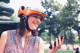 Airwheel C5 intelligent bike helmet