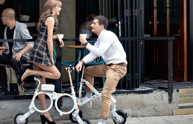 Airwheel E6 lightweight minimalist e-bike