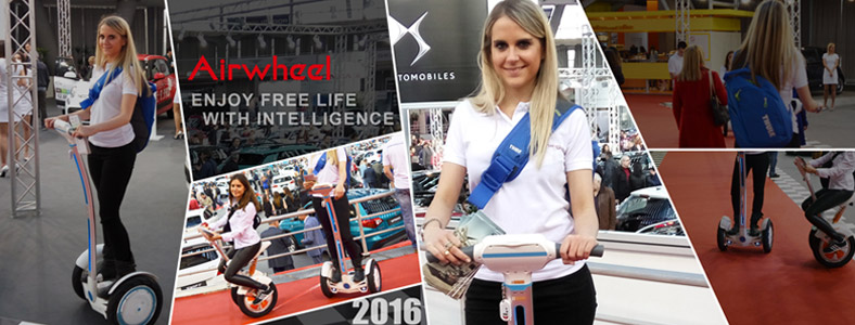 Airwheel, Belgrade Car show 2016