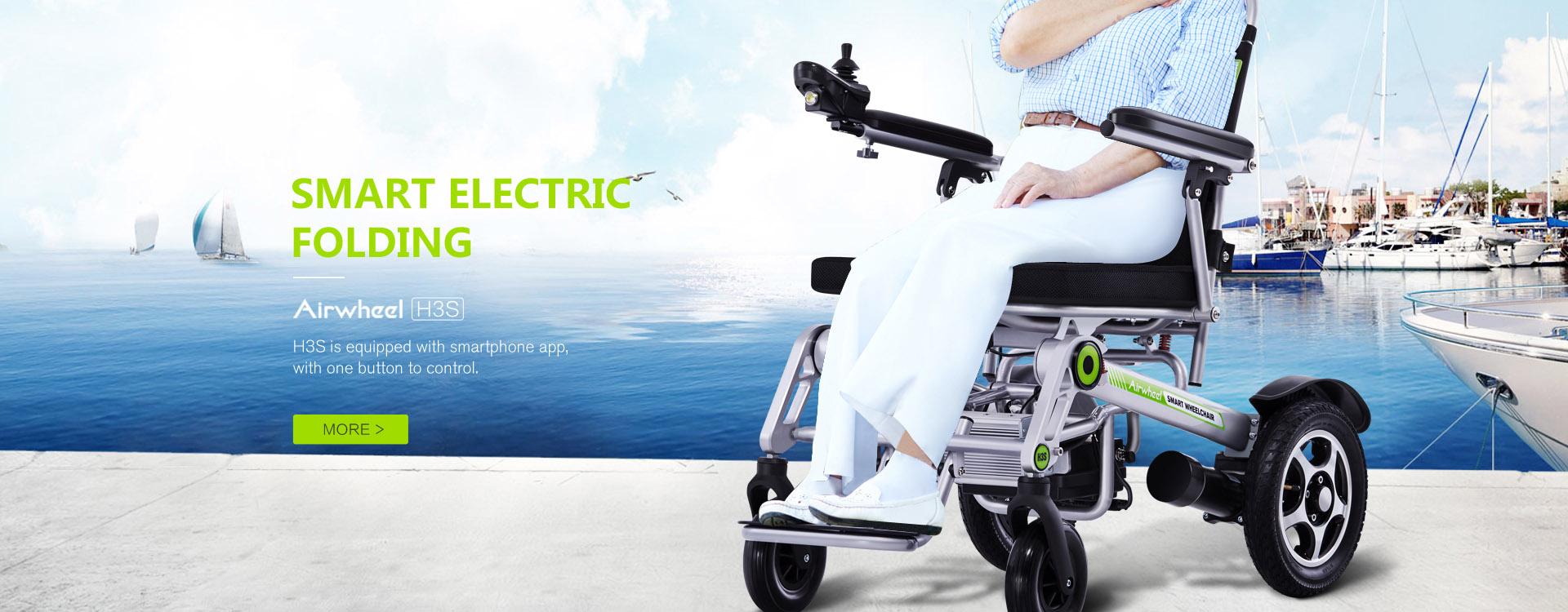 Airwheel H3S Lightweight Folding Power Chair