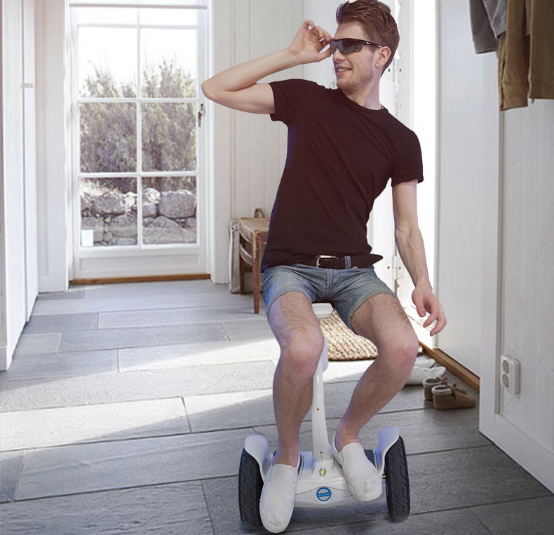 2 wheel self-balancing scooter