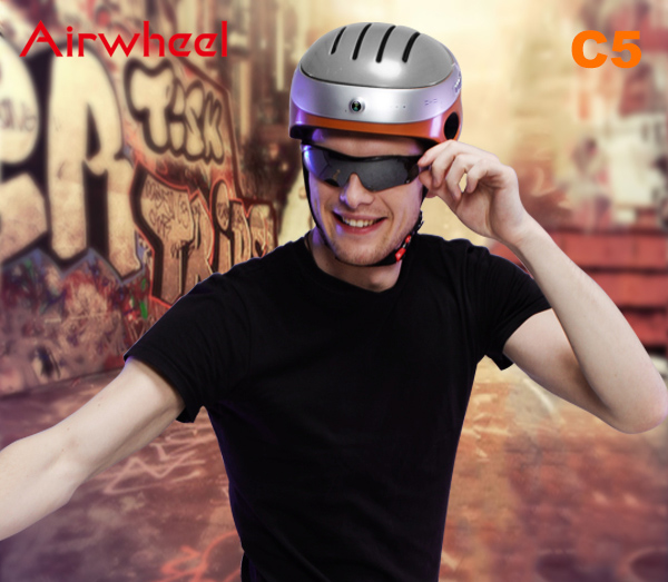 Airwheel C5 helmet heads