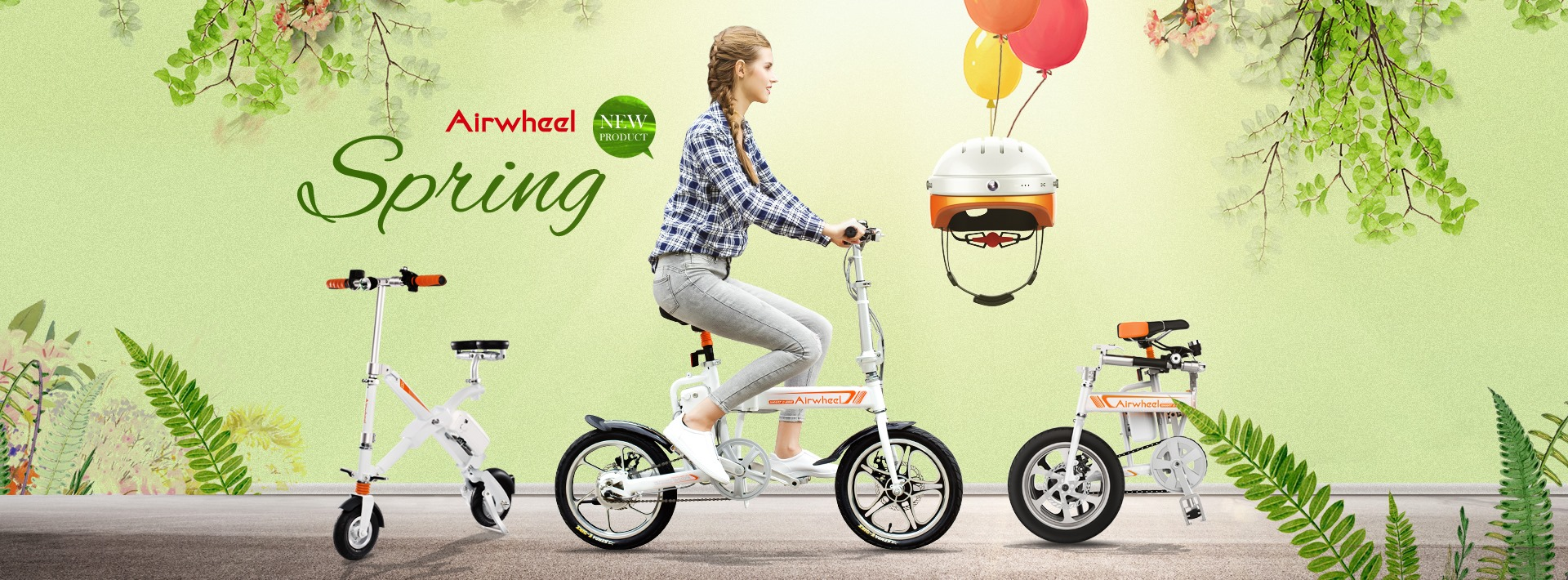 Airwheel smart ebike