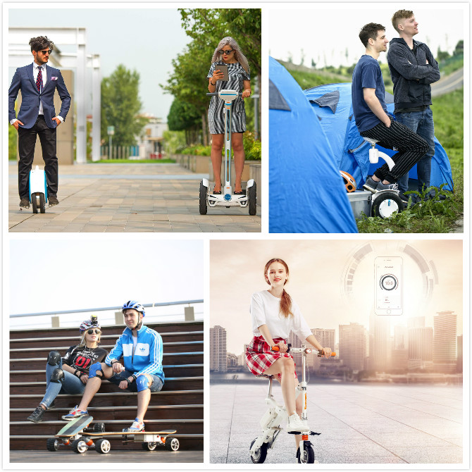 Airwheel electric bike