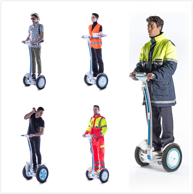 irwheel intelligent self-balancing scooter