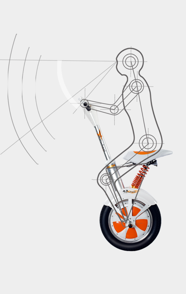 saddle-equipped self-balancing intelligent scooter