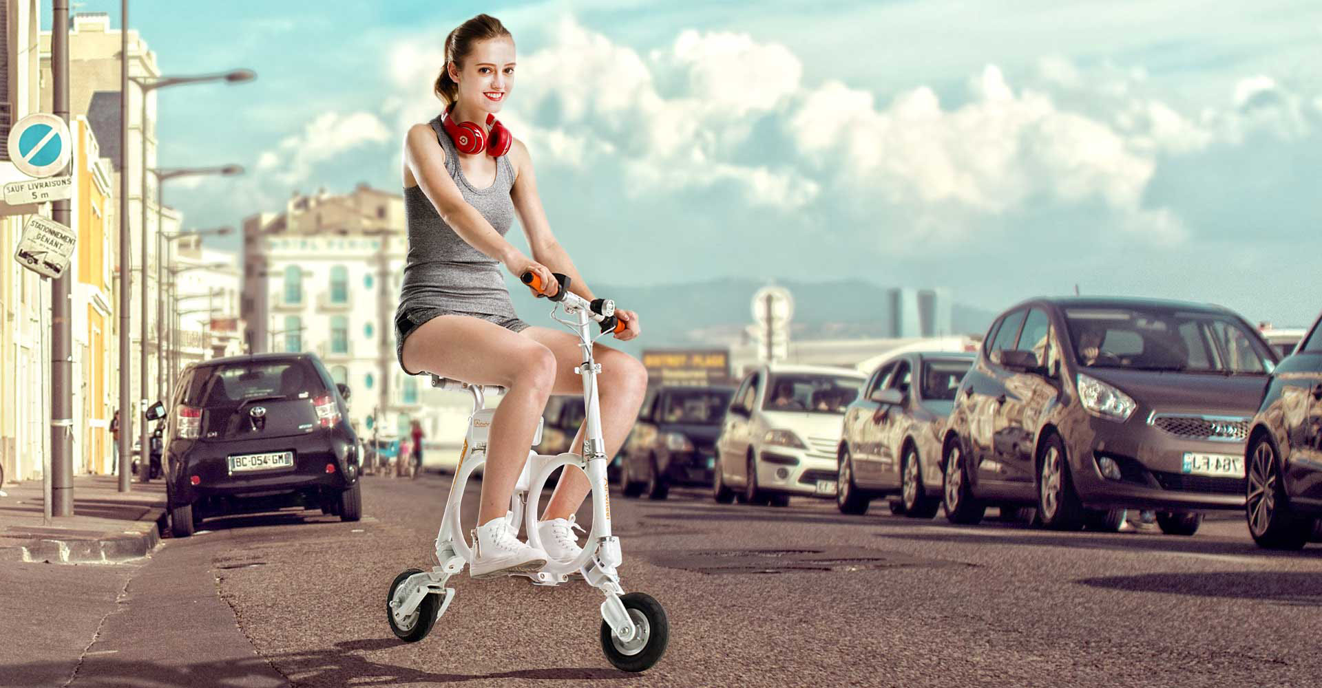 Airwheel E3 folding e bike