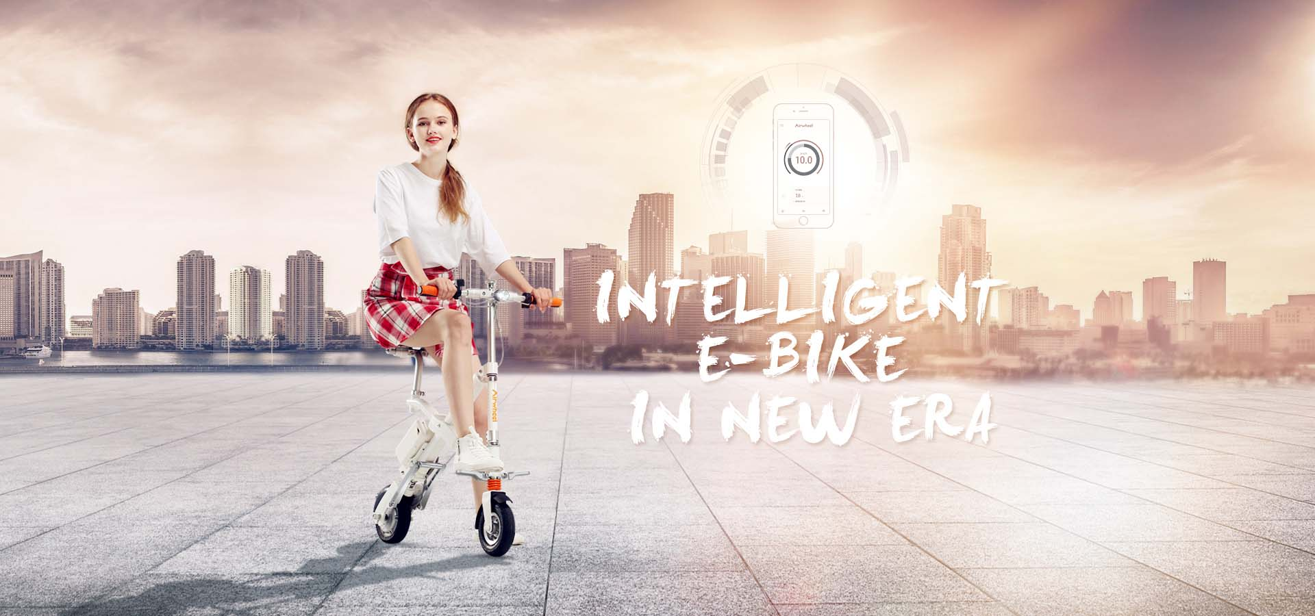 Airwheel E3 and E6 smart e bikes