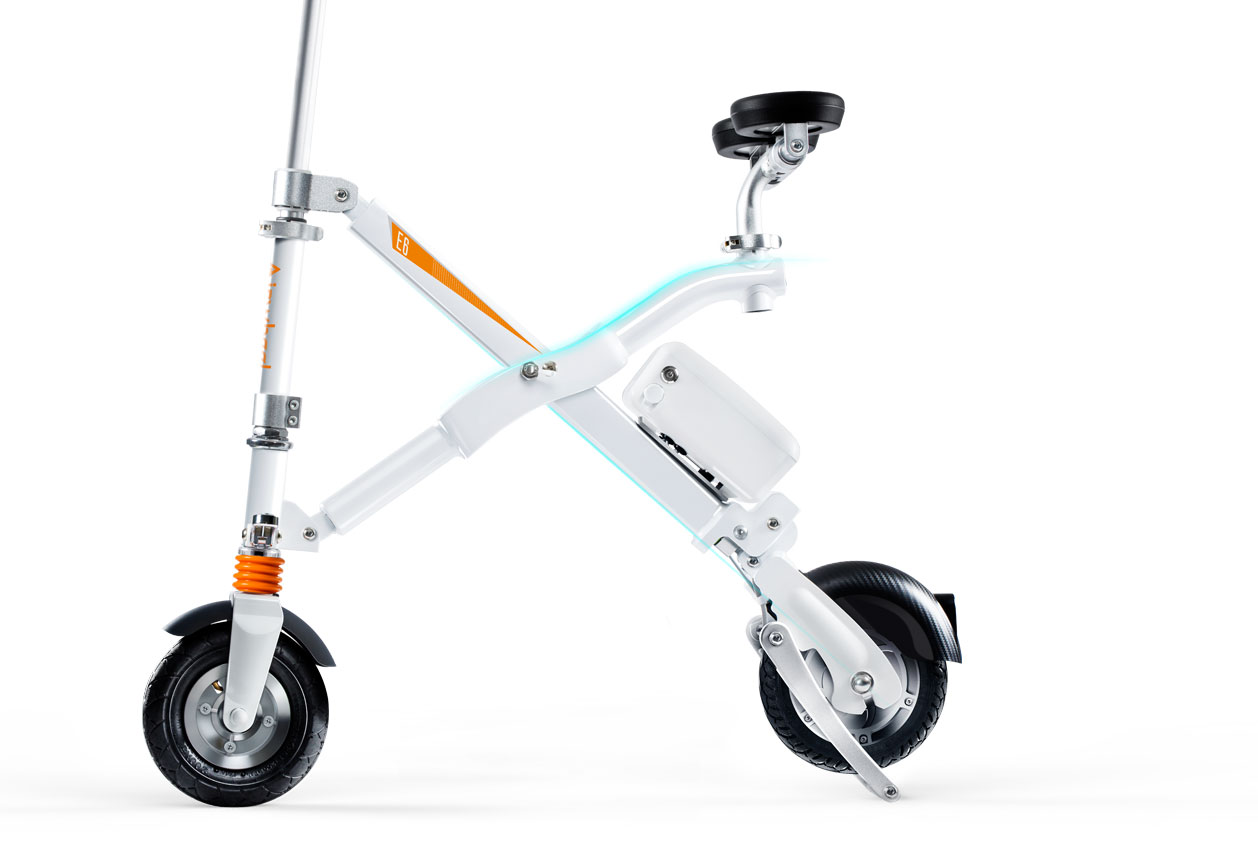 Airwheel E6 foldable dirt ebike with lithium battery Is Beautiful Both Inside and Outside
