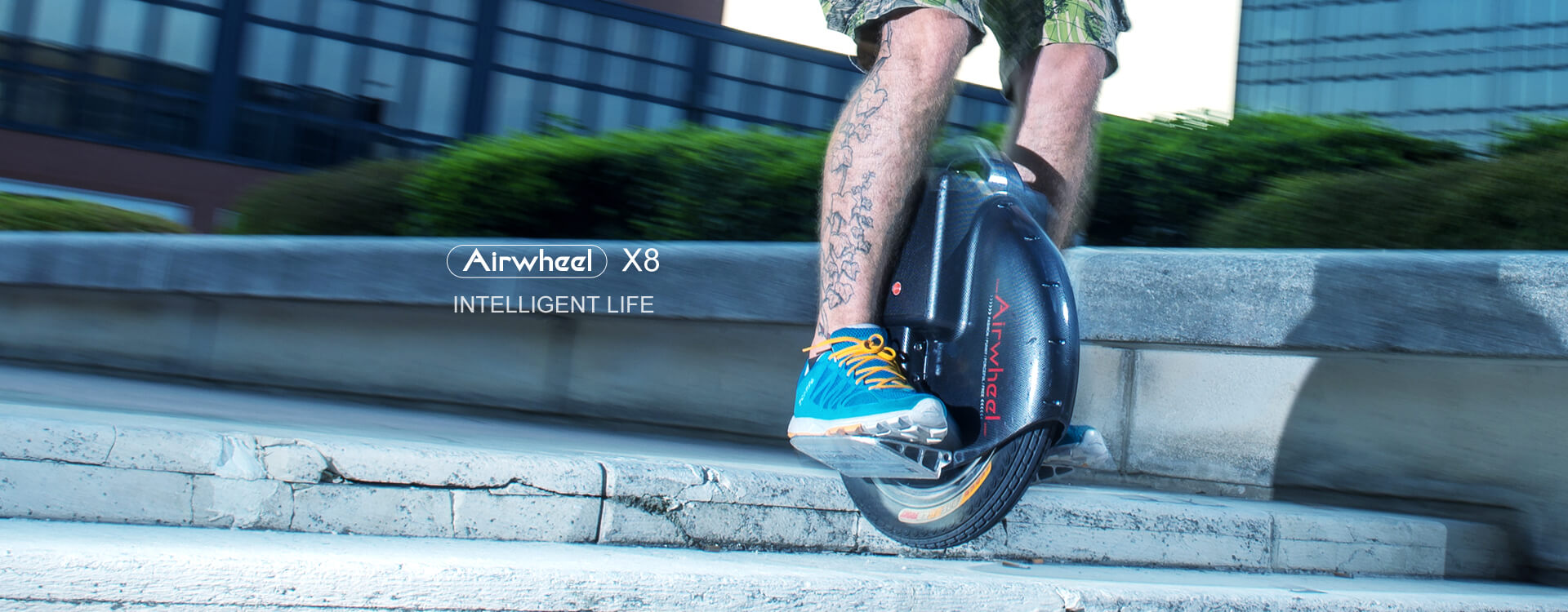 Airwheel X8 electric self-balancing unicycle