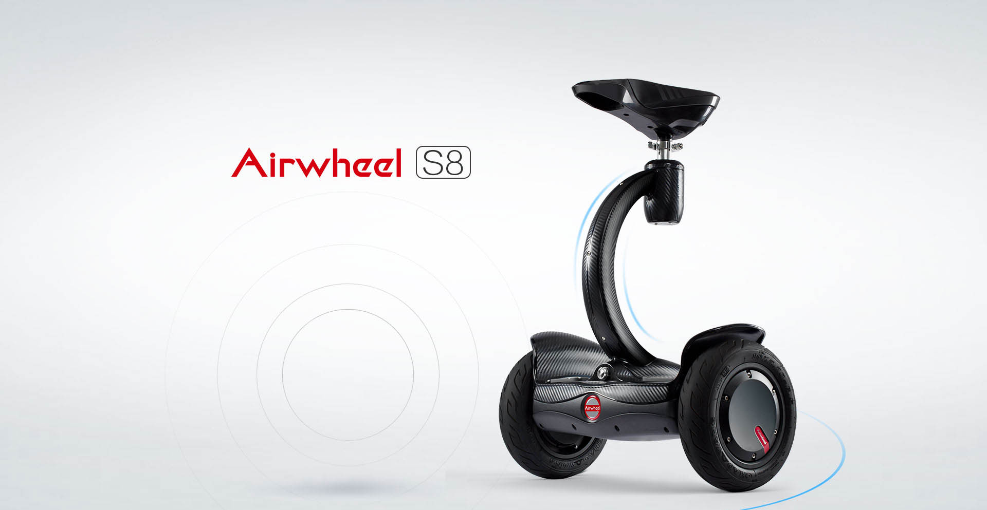 Airwheel S8 two wheel electric walkcar