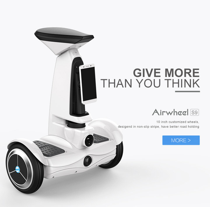 Airwheel S9 sitting-posture electric hoverboard