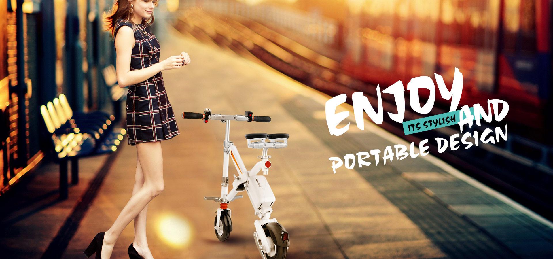 Airwheel E6 smart folding electric bike