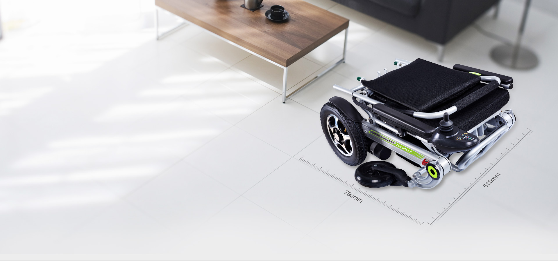Airwheel H3 electric folding wheelchair