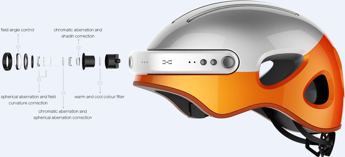 Airwheel intelligent helmet C3 and C5