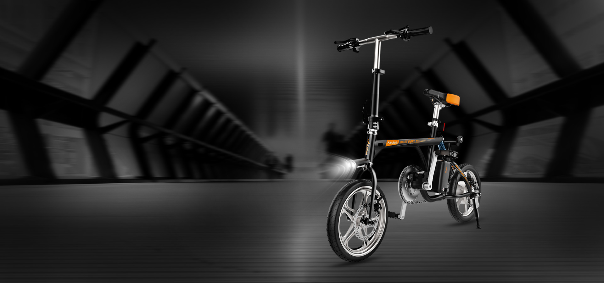Airwheel R3 electric aided-bicycle