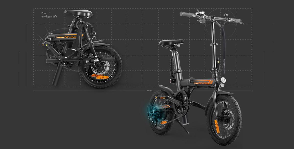 Airwheel R5 electric assist bike