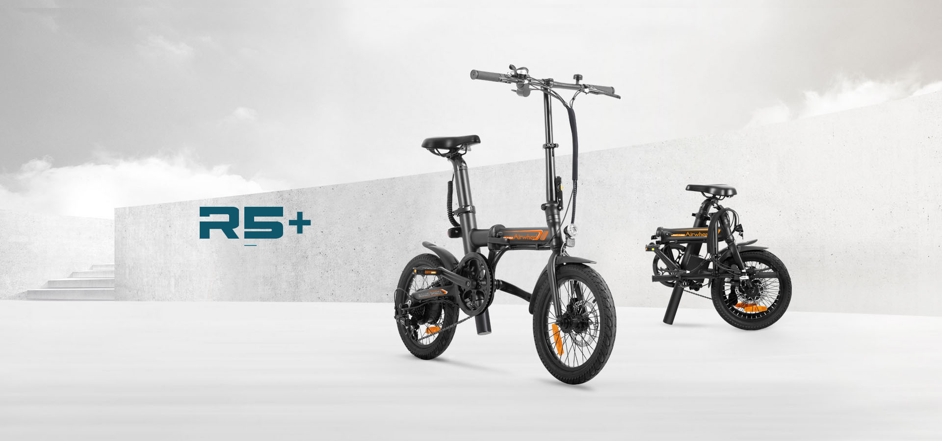Airwheel R5 citizen folding electric bike