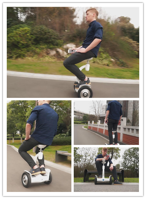 S8 saddle-equipped electric hoverboard
