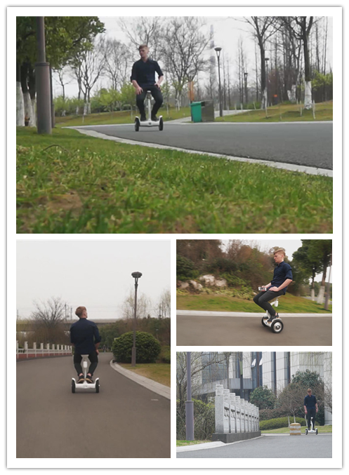 Airwheel S8 electric scooter with seat