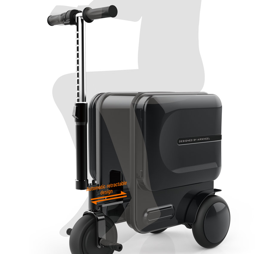 Motorized Rideable Luggage