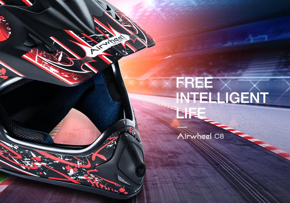 Airwheel smart helmet