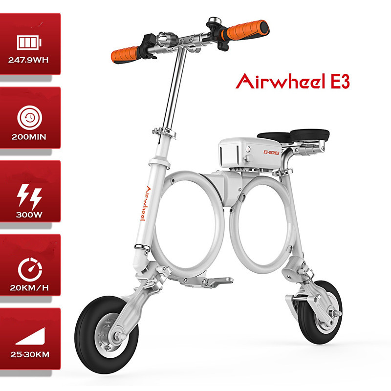 E3 backpack electric bicycle