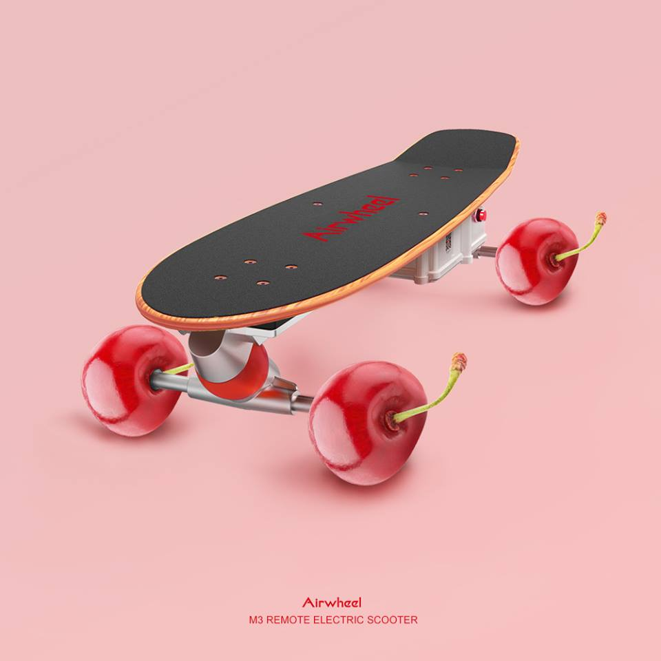 Airwheel-M3-fruits-electric-skateboard-on-the-road.jpg