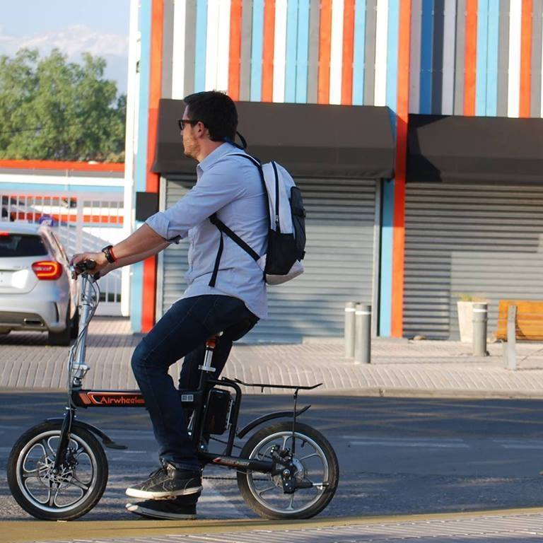 Airwheel R5 electric moped bicycle