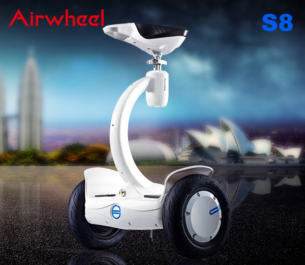 Airwheel S8 saddle-equipped self-balancing scooter