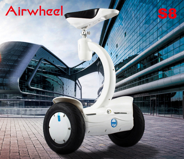 Airwheel S8 saddle-equipped electric scooter