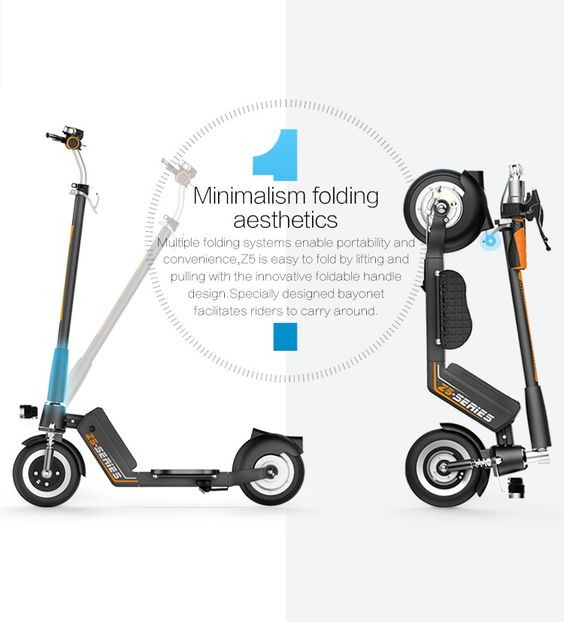 Z5 2-wheeled electric scooter