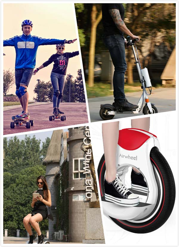 Airwheel electric scooters