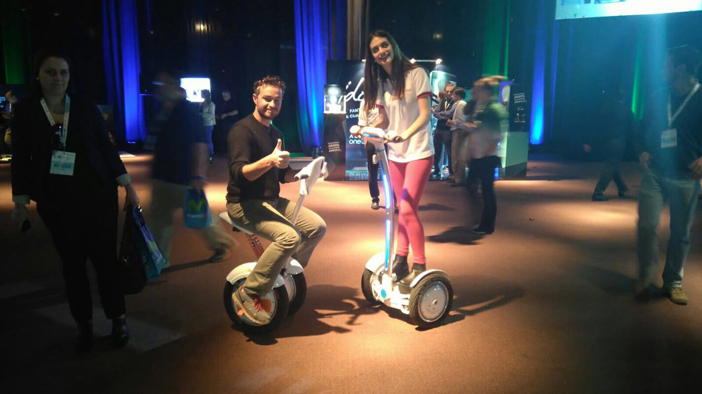 Airwheel electric unicycles
